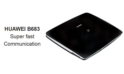 B683 huawei 3G HSPA+ WIRELESS ROUTER