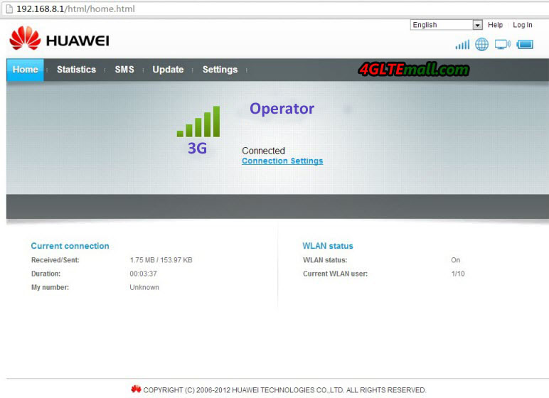 Huawei E5151 3G Configuration and Setup Steps | 3G WiFi Router