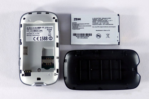 Zte mf60 mobile hotspot data card