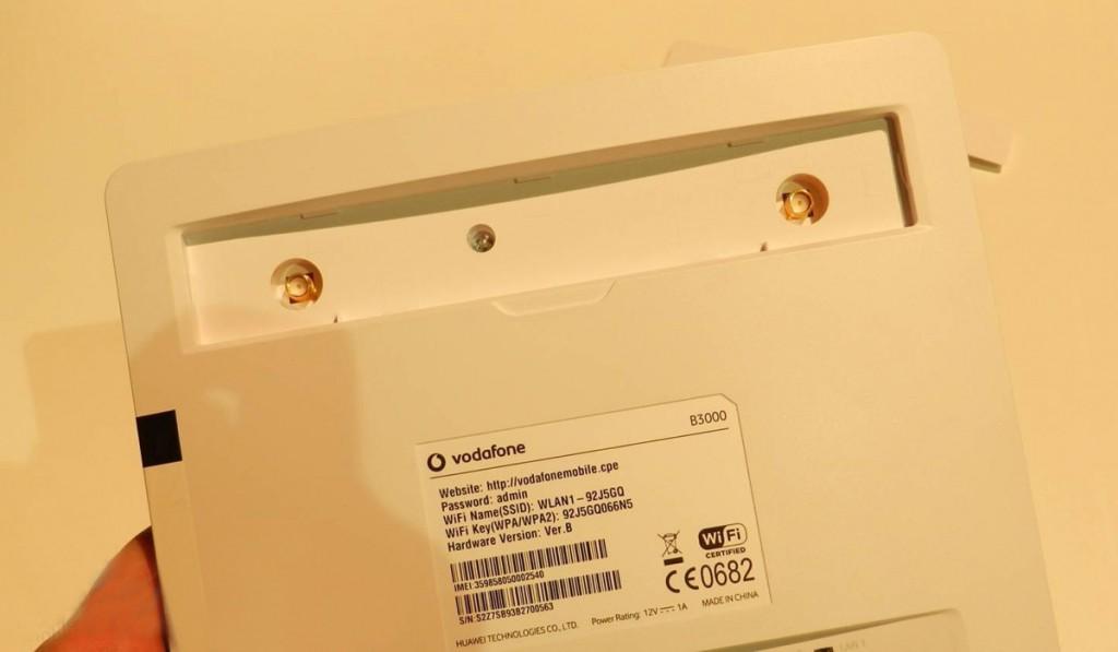 vodafone b3000 lte router test 4g lte mobile broadband. Black Bedroom Furniture Sets. Home Design Ideas