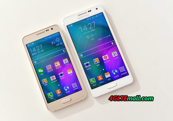 Samsung Galaxy A5 VS A3 SIZE