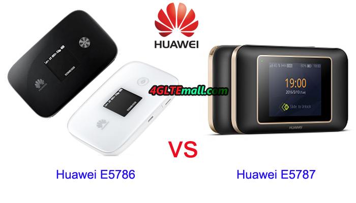 Huawei-E5786 VS Huawei E5787