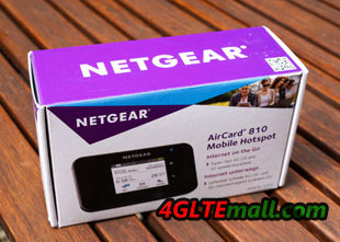 netgear aircard 810 package box