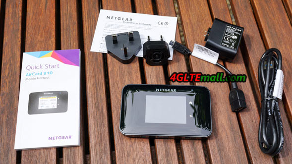 netgear aircard 810 package content