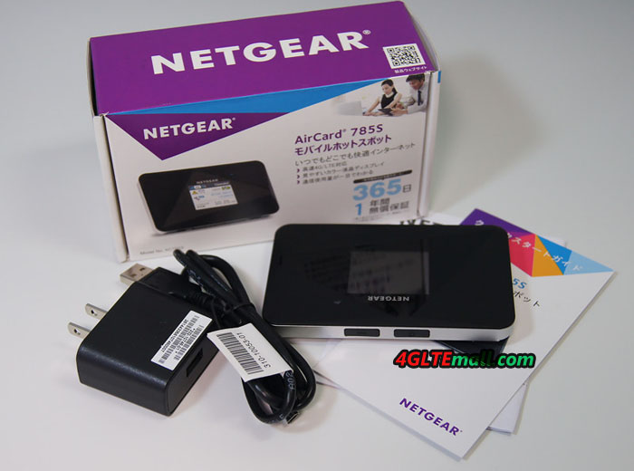 Netgear Aircard 785 package contents