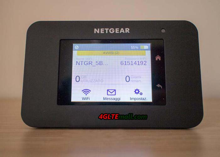 netgear aircard 790s screen