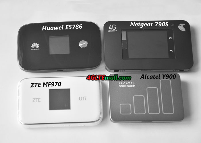 Five LTE Cat.6 Portable 4G Routers to Recommend