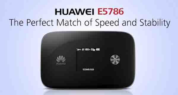 huawei e5786 pocket wifi