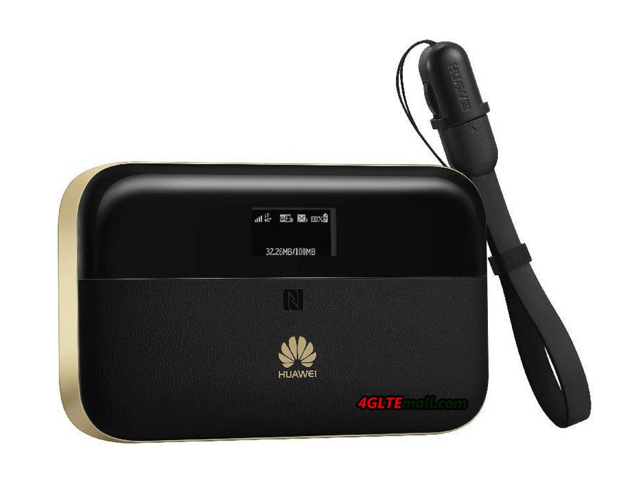 Like its predecessor Huawei E5770, the Huawei Mobile WiFi Pro 2 combines the pocket router and power bank function into one device.
