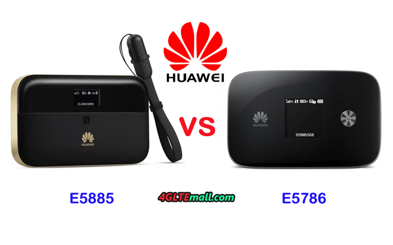 Difference between Huawei E5786 and E5885 – 4G LTE Mall