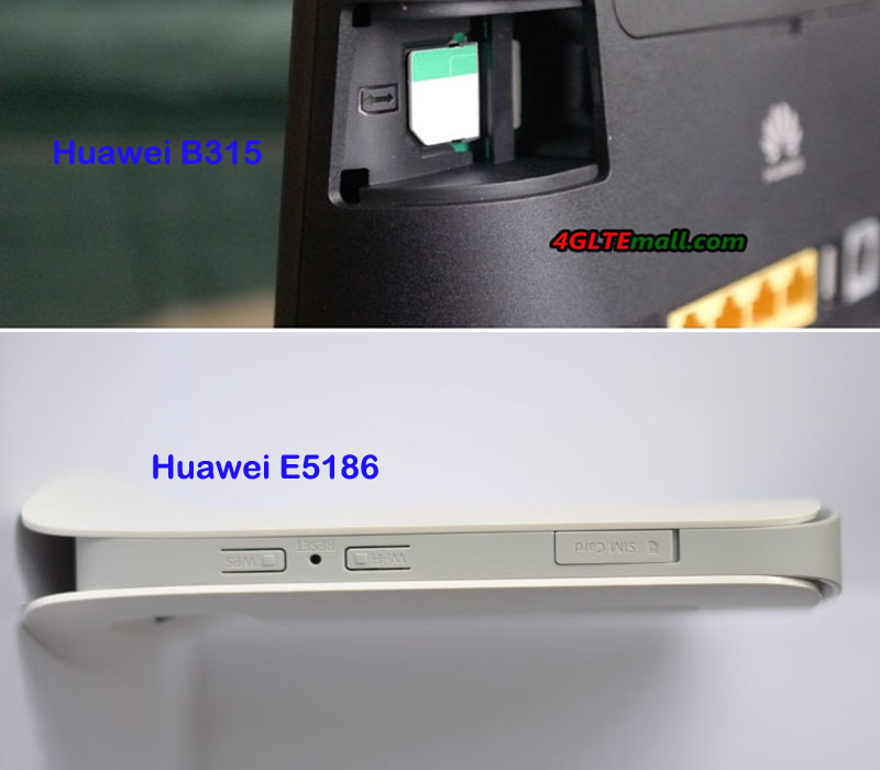 Huawei E5186 Vs Huawei B315 Lte Cpe Which 4g Router Is