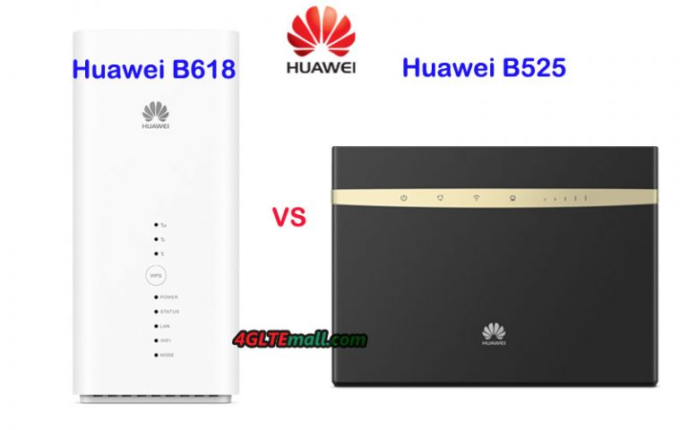 What's the Difference between Huawei B525 and B618