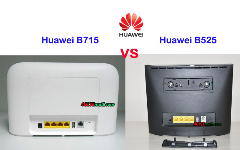 Huawei B715 VS Huawei B525 LTE WiFi Router - Which one is