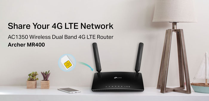 TP-Link Archer MR400 AC1350 4G LTE Router Review