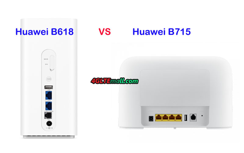 LTE WiFi Router with SIM card slot and