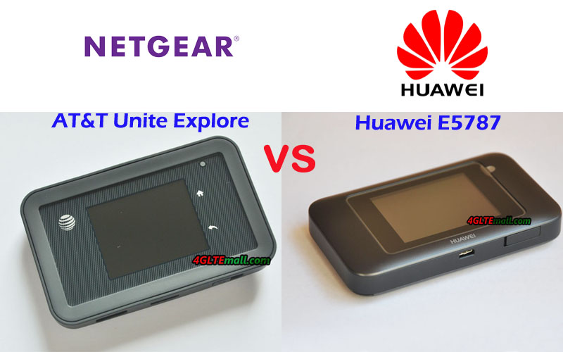 Huawei E5787 VS Netgear Aircard 815s