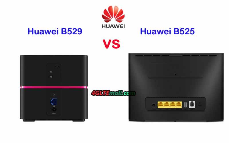 Huawei B525 VS Huawei B529 HomeNet Box