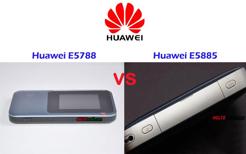 Huawei E5885ls 93a Vs Huawei E5788u 96a 4g Lte Mall