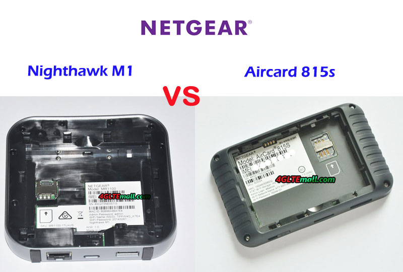 AT&T Unite Explore (815s) VS AT&T Nighthawk M1