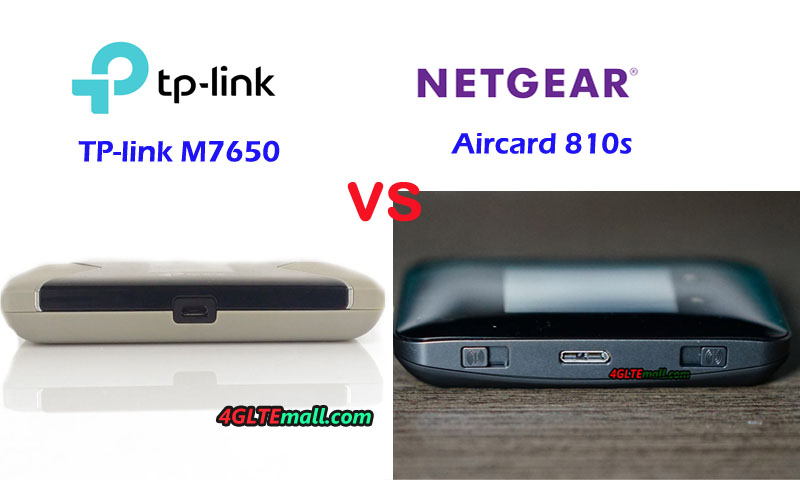 TP-Link M7650 VS Netgear AC810 Archives – 4G LTE Mall