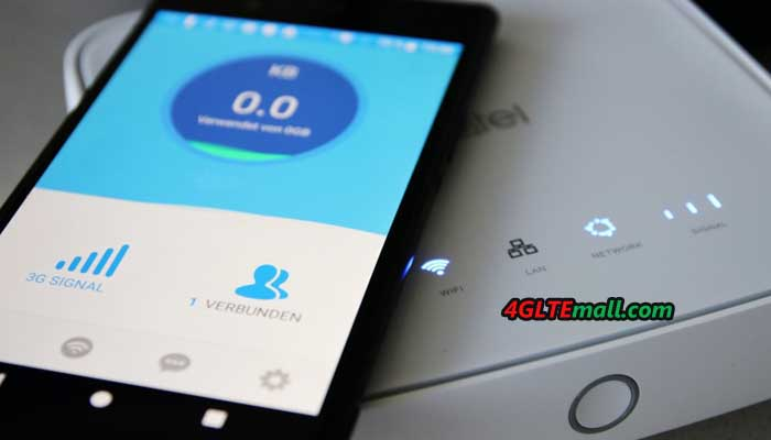Alcatel Linkhub HH40 WiFi Router Review – 4G LTE Mall