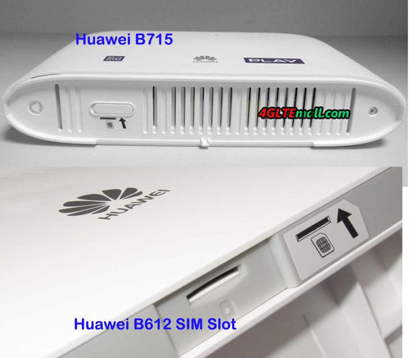 Huawei B612 VS Huawei B715