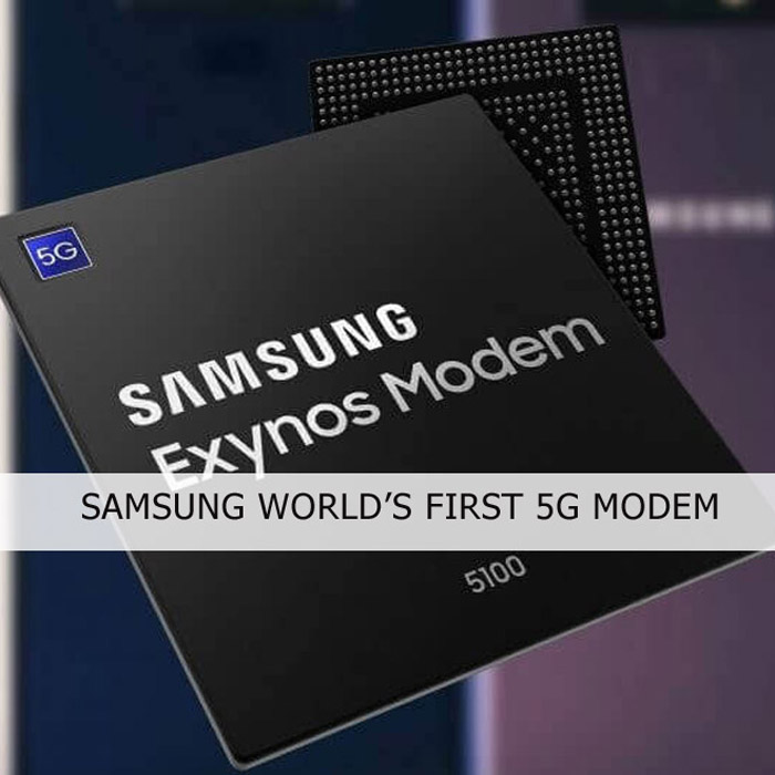 Samsung Exynos 5100 Multimode 5G Modem Released – 4G LTE Mall