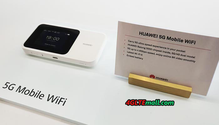 Huawei Released a 5G Portable Mobile Wi-Fi Router – 5G News | 5G