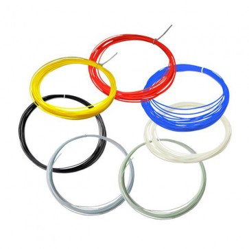 3D Printer Filaments 1.75MM ABS Material 20 Colors 10 Meters