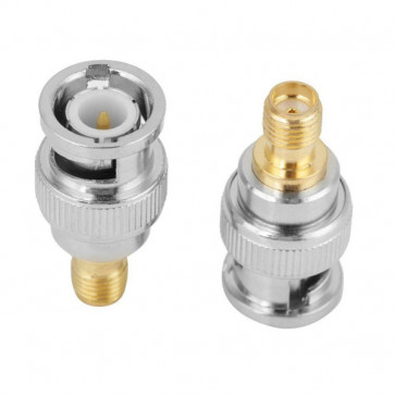 BNC-male to SMA-Female RF Coaxial Connector