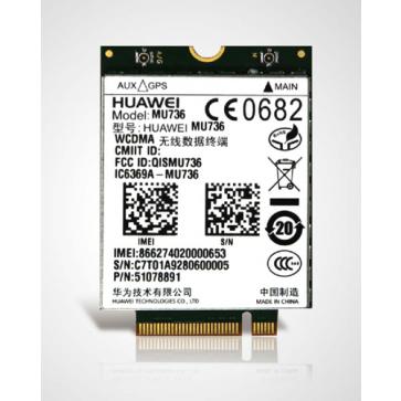 HUAWEI MU736 3G M.2 NGFF Module