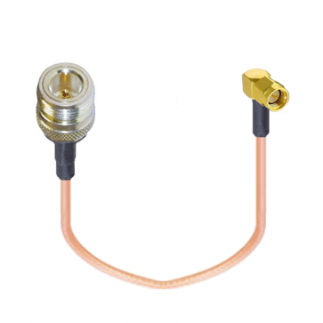 N-female to SMA-male RF Coaxial Pigtail Cable Adapter