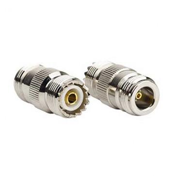 N-female to UHF-Female RF Coaxial Adapter