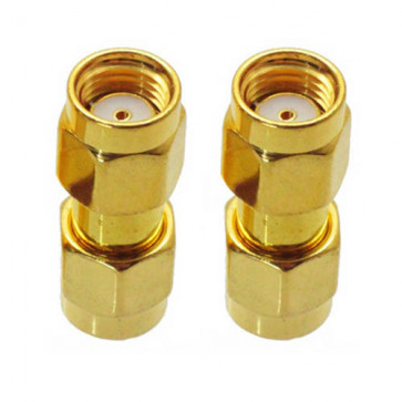 RP-SMA Male to RP-SMA Male RF Coaxial Connector