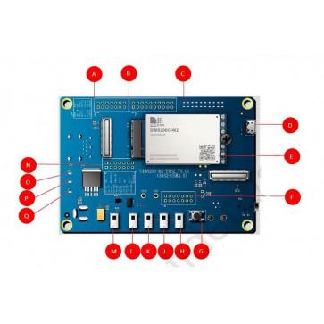 SIMCOM SIM8200EA-M2 5G Module Development Board EVB Kit