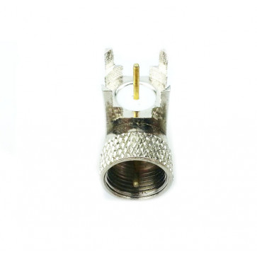 UHF-JE(UHF-male to PCB mount) Right Angle RF Connector