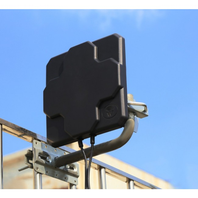 18 Dbi High Gain Panel Flat 4g Outdoor Lte Antenna For 4g