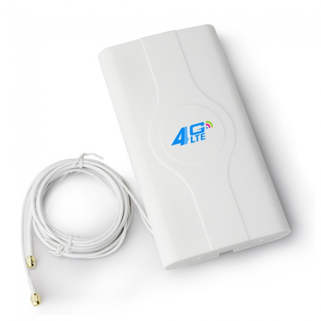 40dbi High Gain Indoor 4g Lte Mimo Antenna Dual Sma Crc 9