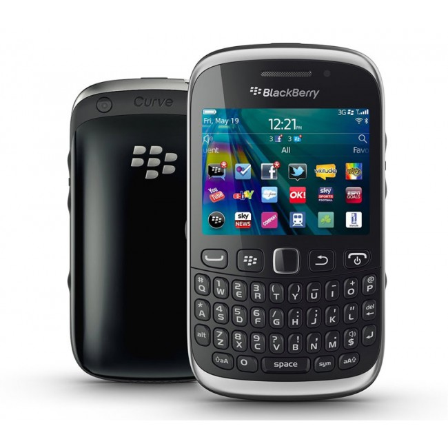 Blackberry Curve 9320 Black And Silver BlackBerry Curve 9320 ...