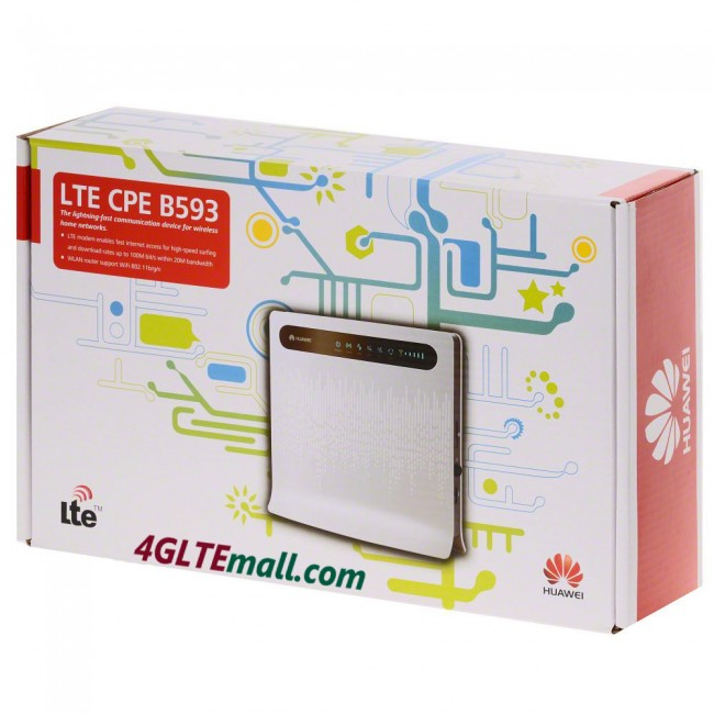 problem huawei b593 4g lte cpe industrial wifi router pei