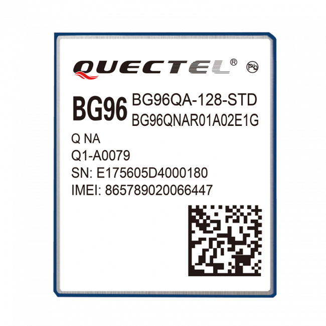 Quectel BG96 LTE Cat M1/NB1 & EGPRS Module