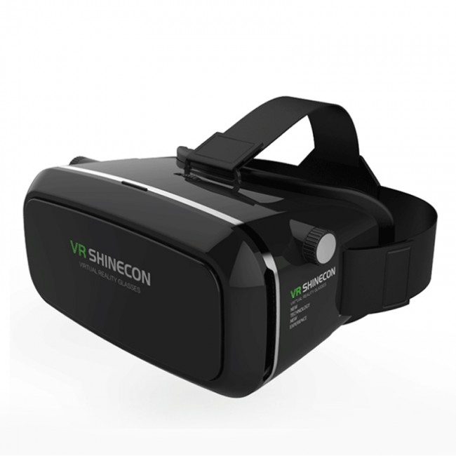 Vr Shinecon 3d Virtual Reality Glasses Head Mount Headset 3d Vr Glassess Box Helmet
