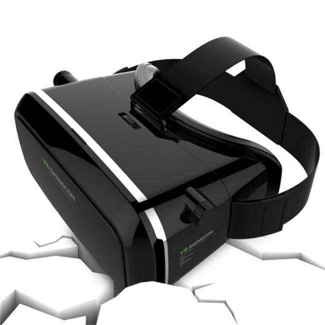 Vr Shinecon 3d Virtual Reality Glasses Head Mount Headset 3d Vr Glassess Box Helmet Headset