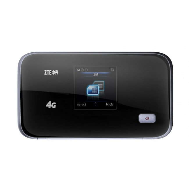 zte mobile hotspot z291dl Surface feels lightweight