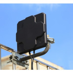 High Gain Flat Panel 4G Outdoor Antenna