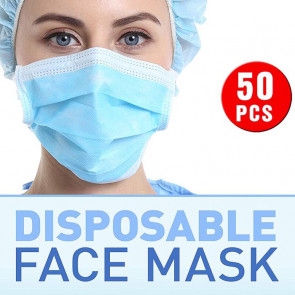 50pcs x Disposable Medical Face Mask