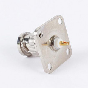 BNC-Male Jack four-hole flange square plate Coaxial Adapter
