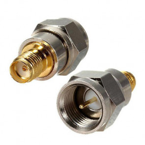 F-Male To SMA-Female Jack Coaxial Adapter Connector