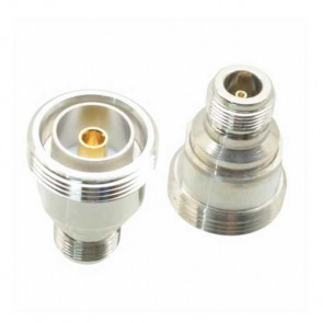 N-female to 7/16 DIN-Female L29 RF Coaxial Adapter