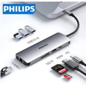 Philips Laptop Docking Station for Apple, HP, Dell, Huawei, Xiaomi, Asus, Lenovo, ThinkPad